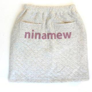 ニーナミュウ(Nina mew)の未使用★ニーナミュウ キルティング スカート(ミニスカート)