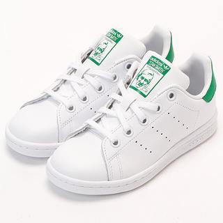 アディダス(adidas)の☆送料無料☆21.5㎝☆新品☆国内正規☆スタンスミス☆ホワイト/グリーン(スニーカー)