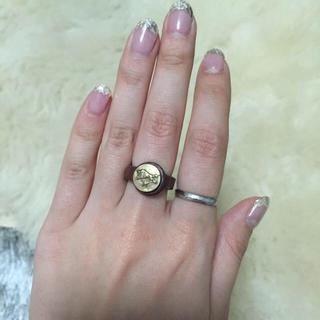 イルビゾンテ(IL BISONTE)のイルビゾンテ レザーリング(リング(指輪))