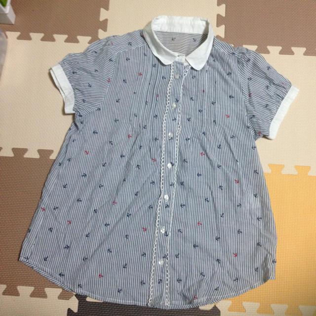マリンブラウス レディースのトップス(シャツ/ブラウス(半袖/袖なし))の商品写真