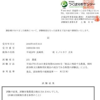 規格外:小粒のお米9g 28年産 ヒノヒカリ 食品/飲料/酒の食品(米/穀物)の商品写真