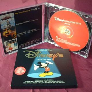 ディズニー(Disney)の限定2枚組CDディズニーグレイテストヒッツ/スティービーアギレラ(映画音楽)