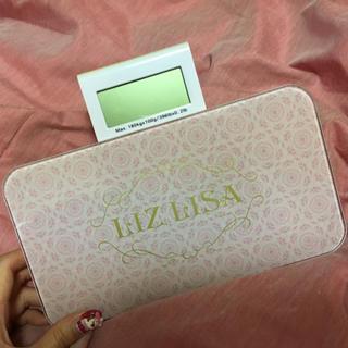 リズリサ(LIZ LISA)のLIZ LISA♡へるすめーたー(体重計/体脂肪計)