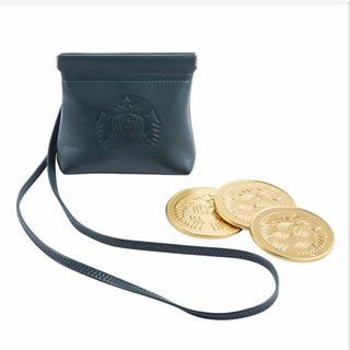 スターバックス2016 海外台湾チョコ付きパース ポーチ 財布(財布)