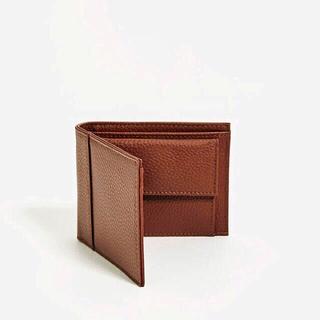 ザラ(ZARA)の【新品】 ZARA インナーコインケース付き クラシックウォレット(折り財布)