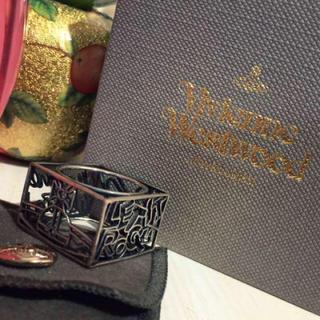 ヴィヴィアンウエストウッド(Vivienne Westwood)のヴィヴィアン スクエアリング(リング(指輪))