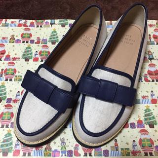 ジエンポリアム(THE EMPORIUM)のリボン付きローファー(ローファー/革靴)