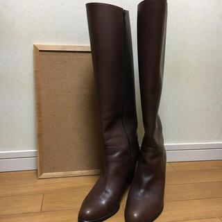 シアン様専用 ロングブーツ ブラウン 26.0(ブーツ)