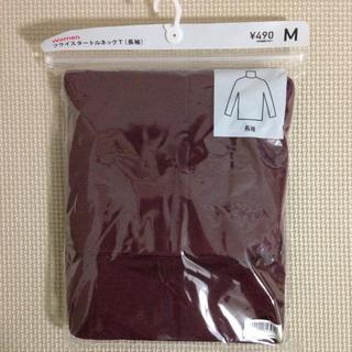 ジーユー(GU)のGU/長袖フライスタートルネック(Tシャツ(長袖/七分))