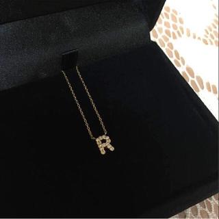 ジュピターゴールドレーベル(jupiter GOLD LABEL)のjupiter gold label ジュピター イニシャルネックレス R