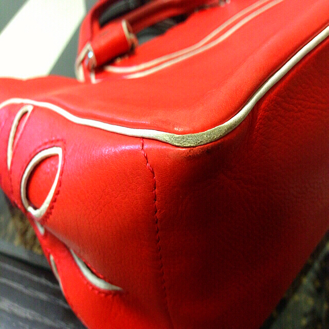 celine(セリーヌ)の【確認用☺︎☆】 限定品♡  CELINE  セリーヌ  ブギーバッグ🔴 レディースのバッグ(ハンドバッグ)の商品写真