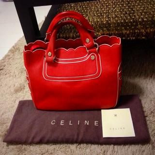 セリーヌ(celine)の【確認用☺︎☆】 限定品♡  CELINE  セリーヌ  ブギーバッグ🔴(ハンドバッグ)