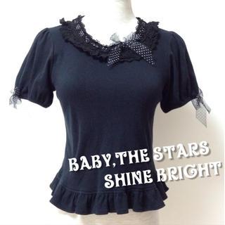 ベイビーザスターズシャインブライト(BABY,THE STARS SHINE BRIGHT)の値下♡送料込♡BABYのカットソー(カットソー(半袖/袖なし))
