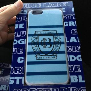 バーバリー(BURBERRY)のねね様専用新品ブルーレーベルクレストブリッジiPhoneケース(その他)