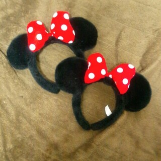 ディズニー(Disney)のミニー耳カチューシャ1つ(カチューシャ)