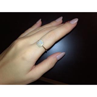 新品18kダイヤモンド0.5ctリング(リング(指輪))
