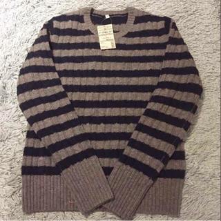 ムジルシリョウヒン(MUJI (無印良品))の☆りんのすけ様☆ 無印良品 ケーブル柄 セーター(ニット/セーター)