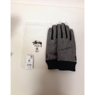 ステューシー(STUSSY)の新品 未使用 stussy レザー 手袋 グローブ(手袋)