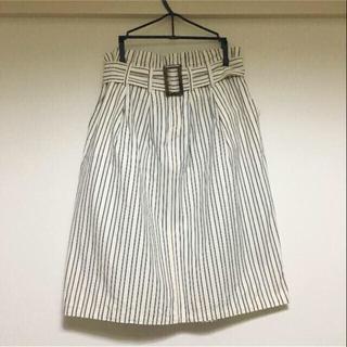 デミルクスビームス(Demi-Luxe BEAMS)の【めぐ様】Demi-Luxe BEAMS  ストライプスカート(ひざ丈スカート)