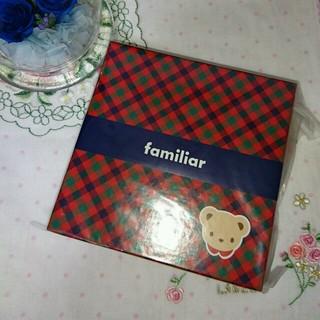 ファミリア(familiar)のfamiliarBOX付きメモ帳🎵(その他)