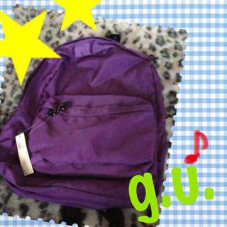 ジーユー(GU)の【g.u.】新品/未使用 リュック(リュック/バックパック)