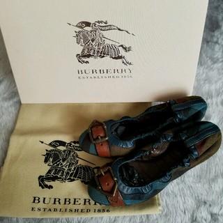 バーバリー(BURBERRY)の正規品☆BURBERRY バレリーナ(バレエシューズ)