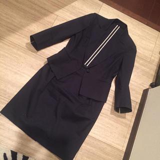 ミッシェルクラン(MICHEL KLEIN)のミッシェルクラン 黒スーツ(スーツ)