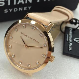 再入荷人気 クリスチャンポール 腕時計 レディース SWL-04 上品なデザイン(腕時計)