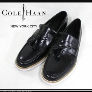 コールハーン(Cole Haan)のCOLE HAAN (コールハーン) タッセルローファーホワイトソール(その他)