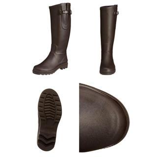 エーグル(AIGLE)の新品◆AIGLE レインブーツ/ブラウン/AIGLENTINE(レインブーツ/長靴)