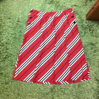 バーバリー(BURBERRY)のバーバリーブルーレーベルのスカート(ひざ丈スカート)