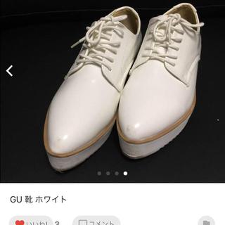 ジーユー(GU)の専用☆値下げ☆ GU ホワイト 靴(スニーカー)