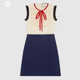 グッチ(Gucci)のgucci 新作ドレス【新品】(ひざ丈ワンピース)