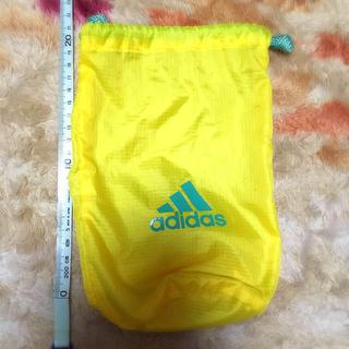アディダス(adidas)の◆巾着ポーチ◆アディダス 黄色(その他)
