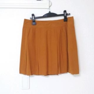 フォーエバートゥエンティーワン(FOREVER 21)のオレンジ スカート*(ひざ丈スカート)