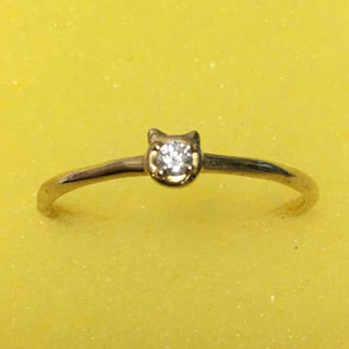 ツモリチサト(TSUMORI CHISATO)のツモリチサトジュエリー 猫リング(リング(指輪))