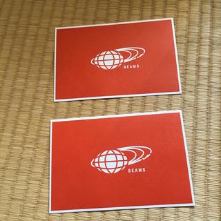 ビームス(BEAMS)の【新品】BEAMS メッセージカード(カード/レター/ラッピング)