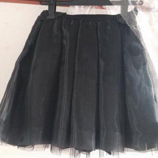 マーキュリーデュオ(MERCURYDUO)のマーキュリー  オーガンジースカート新品(ミニスカート)