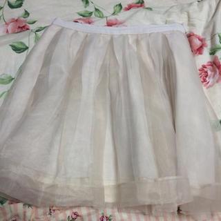 マーキュリーデュオ(MERCURYDUO)のMERCURYDUOオーガンジースカート(ミニスカート)