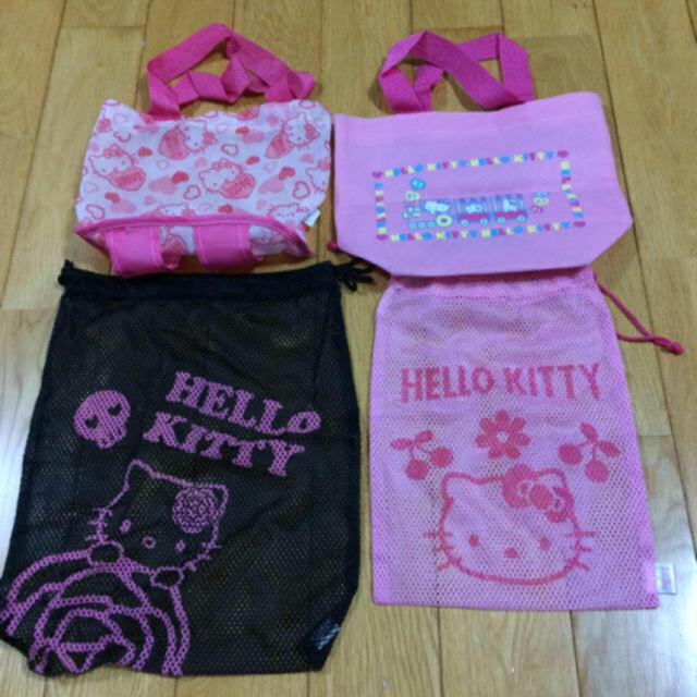 キティちゃん ミニバッグ 巾着袋 ハローキティ ゆめかわいい きんちゃく袋