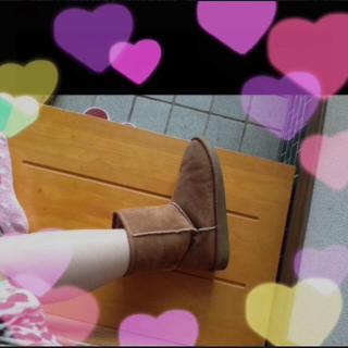 ブラウンブーツ(ブーツ)