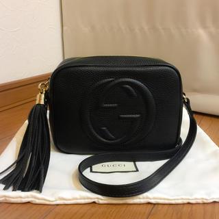 timeless design 2923e 4fdcd 初売り 新品 GUCCI 正規品 グッチ ソーホー レザー ショルダー バッグ | フリマアプリ ラクマ