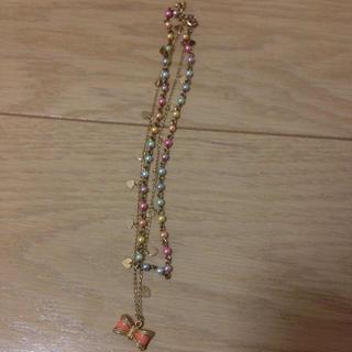 バービー(Barbie)の2連 ネックレス(ネックレス)