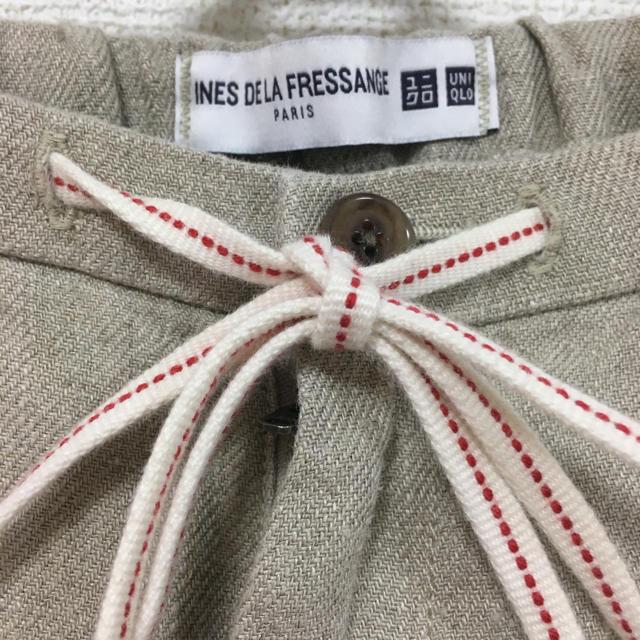 UNIQLO(ユニクロ)のUNIQLO × イニス (INES DE LA FRESSANGE) パンツ レディースのパンツ(カジュアルパンツ)の商品写真