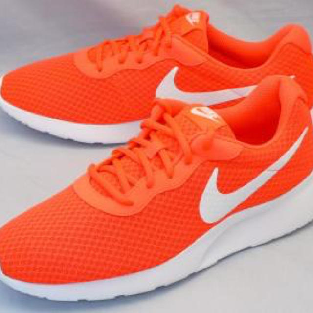 NIKE(ナイキ)のナイキ タンジュン オレンジ色 メンズの靴/シューズ(スニーカー