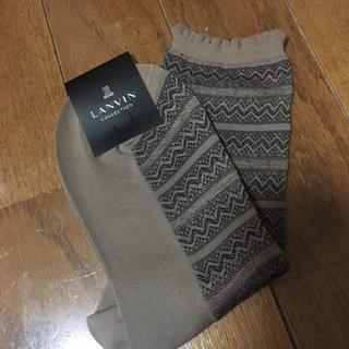 ランバン(LANVIN)の新品 LANVIN 靴下(ソックス)
