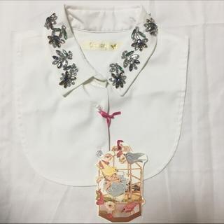 チェスティ(Chesty)の✨新品タグ付きチェスティ✨ビジューつけ襟(つけ襟)