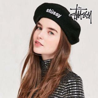 ステューシー(STUSSY)の<最終価格>Stussy woman Elliot Beret ベレー帽(ハンチング/ベレー帽)