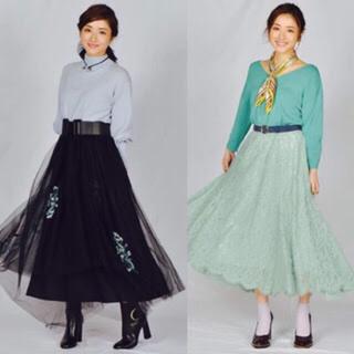 フレイアイディー(FRAY I.D)の石原さとみちゃん着用♡ロングスカート(ロングスカート)