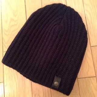 アングリッド(Ungrid)のungridニット帽ベーシック 帽子(ニット帽/ビーニー)